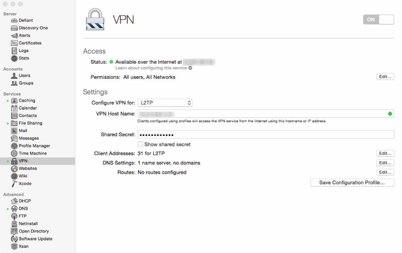 VPN config