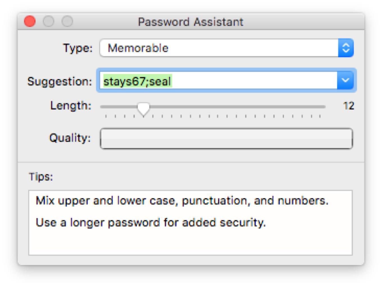 Password Assistant