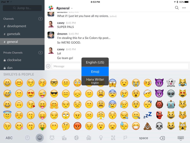 iOS Keyboard Switcher