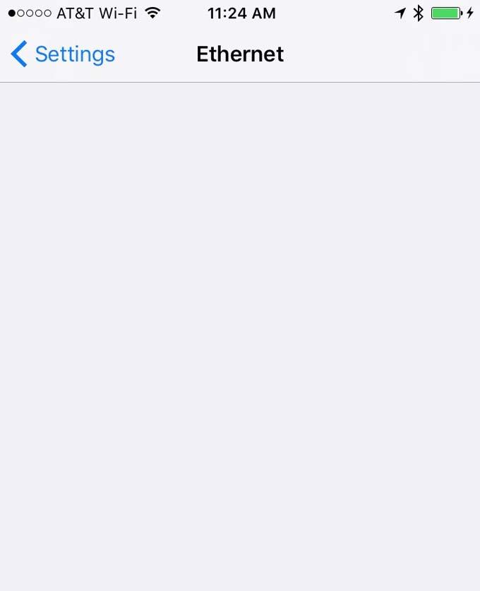 ethernet-empty