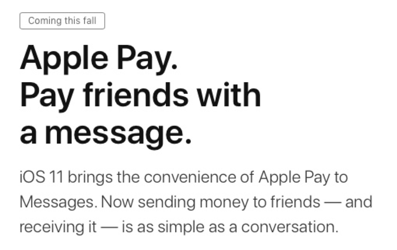 Apple Pay delayed