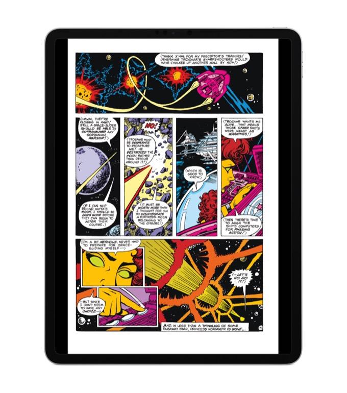 Reading comics on the new iPad Pros – Six Colors