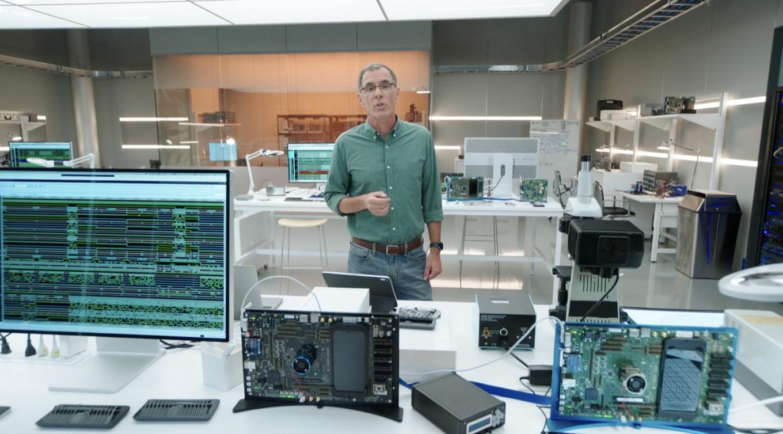 Apple's chip lab