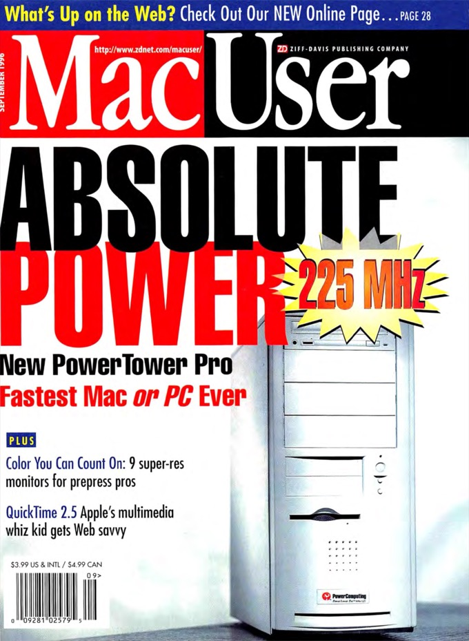 Power Computing on MacUser cover