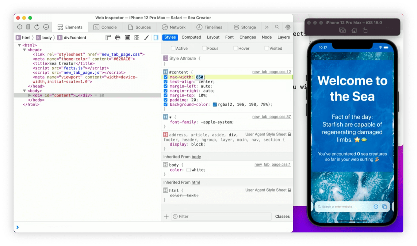 Extensions on iOS