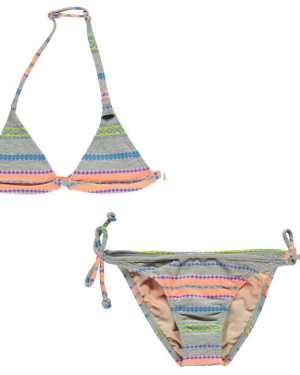 ONeill Stripe Bikini Junior Girls