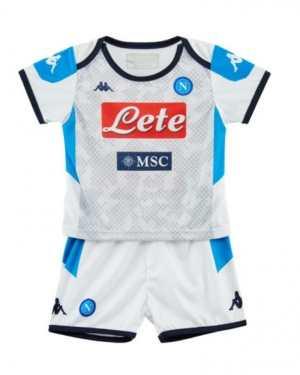 2019-2020 Napoli Kappa Third Football Kit (Kids)