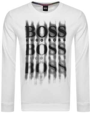 BOSS WBlurry Sweatshirt White