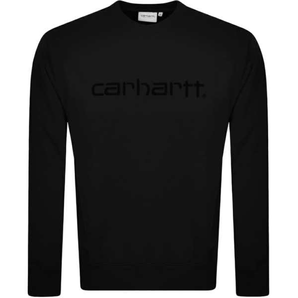 Carhartt Logo Sweatshirt Black