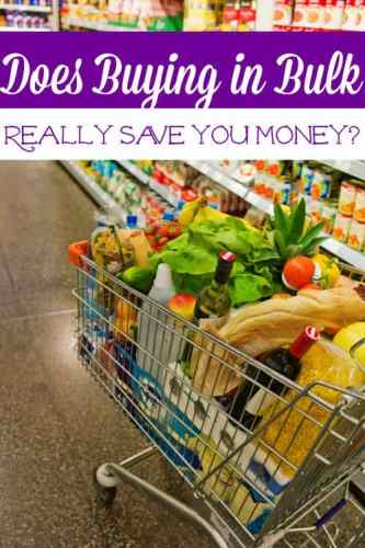Do you like to buy in bulk? Have you ever wondered if buying in bulk REALLY saves you money? Let's take a look!