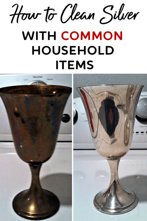 Do you have silver that needs cleaned? Use this easy silver cleaning method to learn how to clean silver with common household products! Yes, it really works!