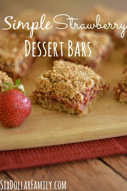 Whole grain strawberry goodness in a bar! Great for school lunches, breakfasts or a quick snack! MUCH better than Nutrigrain bars!