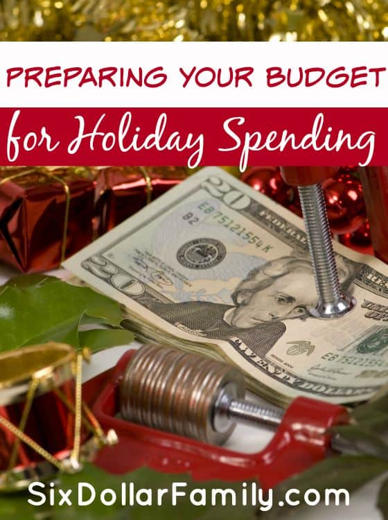"""The holidays might still be weeks away, but your budget needs to be looking at them now! Preparing your budget for holiday spending is one of the most important things you can do to prepare for the """"Most wonderful time of the year!"""""""