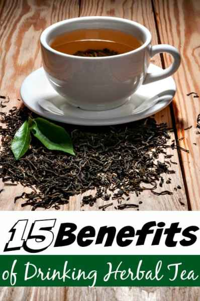 15 Benefits of Drinking Herbal Tea - Herbal tea is much more than a drink! These 15 awesome benefits of drinking herbal teas will show you how they can help with health issues, stress and so much more!