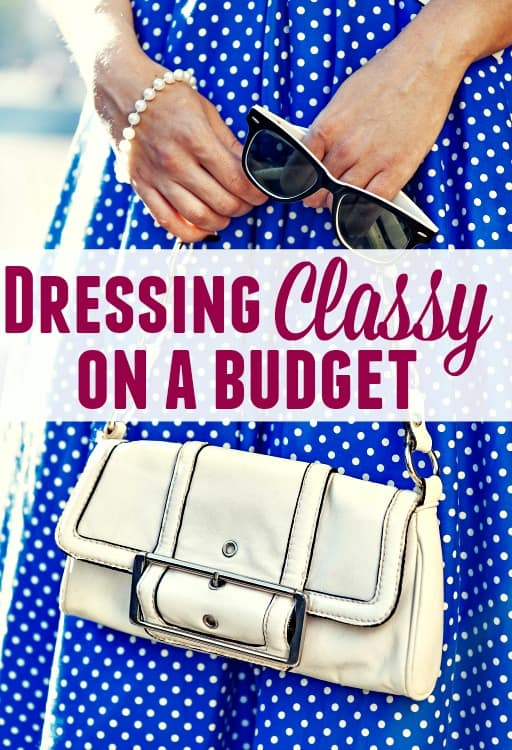 How to Dress Classy on a Budget - Clothing, especially nice clothing can be really expensive! Learning how to save money on clothes can really help though! These tips will have you looking your best and teach you how to save on clothes without going broke! You're sure to be dressing classy and looking your best in no time!