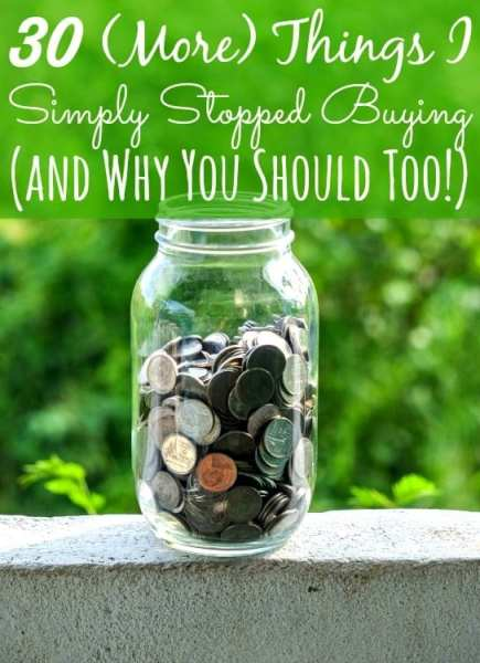 30 (More) Products I Stopped Buying and Started Making at Home - Money saved? $600 in four months. Are you making these things too or are you still wasting your hard earned cash?