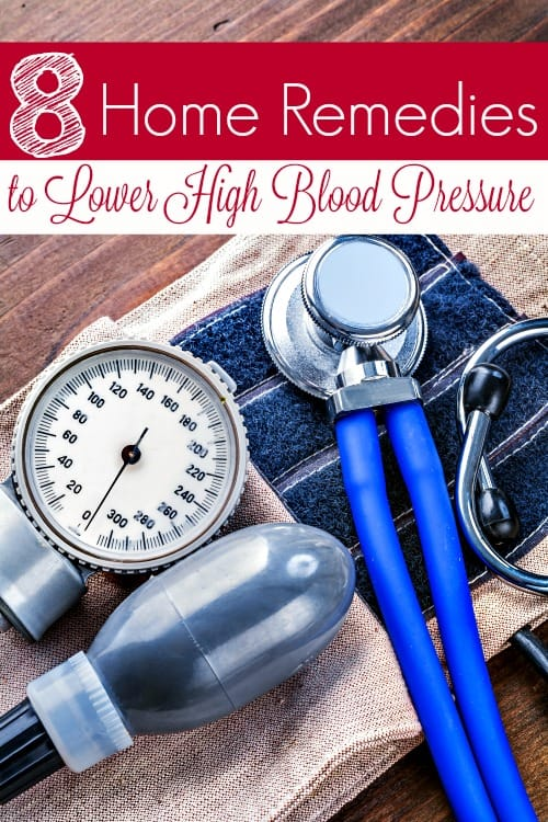 Home remedies to treat high blood pressure - If your blood pressure is running too high, these 8 home remedies for high blood pressure can help lower it and keep it within normal levels! All naturally with no meds!