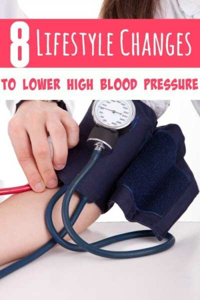 How to Lower High Blood Pressure by Making Lifestyle Changes - If your blood pressure is running too high, these 8 lifestyle changes can help lower it and keep it within normal levels! All naturally with no meds!