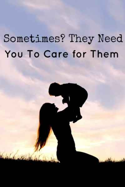 Our Moms care for us all of our lives without a complain. They'll never admit it, but sometimes? They need us to care for them.