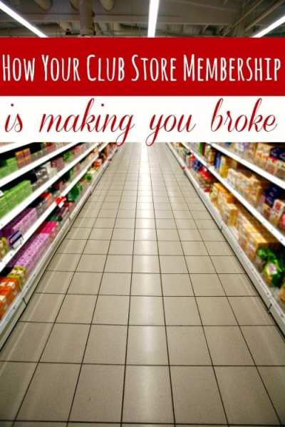 Do you have a Sam's Club or Costco membership? It saves you money, right? Maybe not! Your club store shopping could be making you broke instead of saving you money! How? I'll show you!