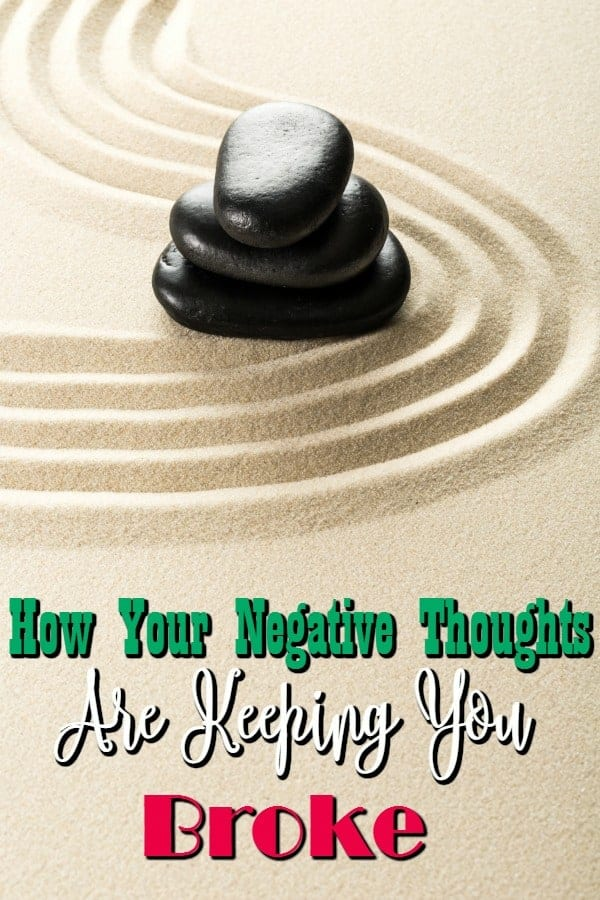 Have you checked your thoughts lately? No? Did you know they can affect your personal budget? Your negative thoughts are making you broke and I can prove it!