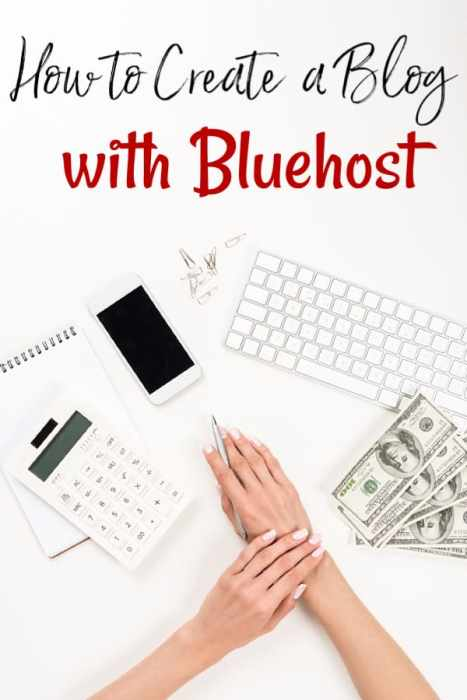 How to Create a Blog - If you have ever wanted to work from home, I have the answer! Let me show you how to start a blog with Bluehost and how to make money blogging.