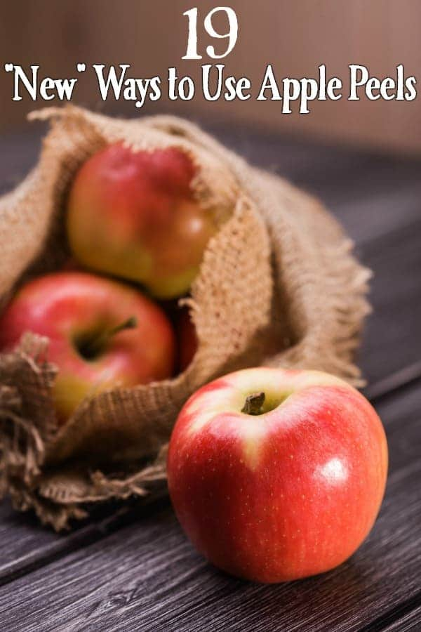 """Uses for Apple Peels - Peeling apples? Don't toss the peels! These 19 """"new"""" uses for apple peels will have y ou saving them over and over again! Talk about a great way to save money!"""