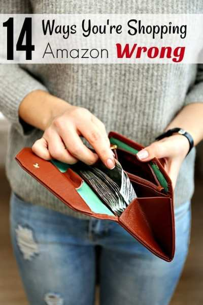 Ways to Save Money on Amazon - Do you shop on Amazon a lot? Make sure you're using these 14 ways to save money on Amazon! If not, you're shopping Amazon wrong!