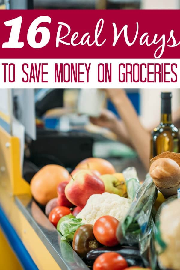 Ways to Save on Groceries that No One Will Tell You - Is your grocery budget too high? If so, these 16 ways to save money on groceries are sure to help! You won't find the common tips here, these are all rarely talked about!