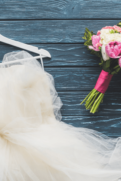 How to save money on a wedding dress - Finding the perfect wedding dress doesn't mean you can't have a wedding on a budget. Let me show you how to save money on your wedding gown with ease.