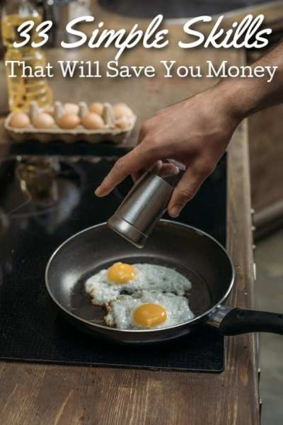Money Saving Skills You Need to Learn - Spending too much having things done for you? Start by learning how to do each of these 33 simple skills that will save you money! Each one will help you live frugally in a different way!