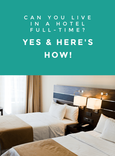 Living in a hotel isn't something most people ever think of doing. I think you should! There are a lot of reasons why you should try full-time hotel living! But take the time to learn how to live in a hotel before you do. It'll save you a lot of time and trouble!