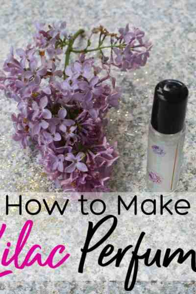 If you like the smell of lilac, you will love this lilac perfume! Learn how to make lilac perfume in just a few minutes! It smells so good you won't want to wear anything else!