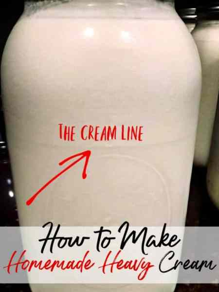 Homemade heavy cream is one of the best things you will ever taste! Learn how to make heavy whipping cream at home easily with just a few steps!