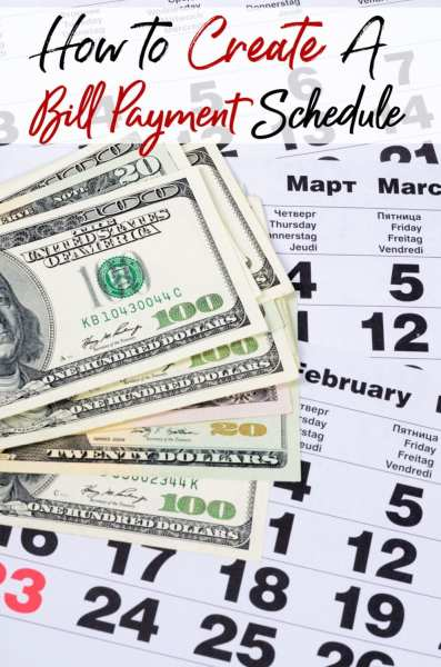 Paying your bills late can damage your budget with late fees & more. Let me show you how to create a bill payment schedule that works for both your family and your budget! Your finances will never be the same again!