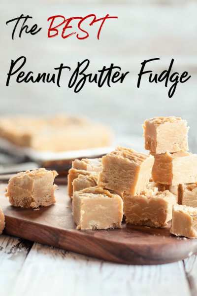 If you need an easy candy recipe, stop looking! Simple to make and packed with a delicious combo of flavors, this easy peanut butter fudge recipe is sure to go into your tried and true recipe file!