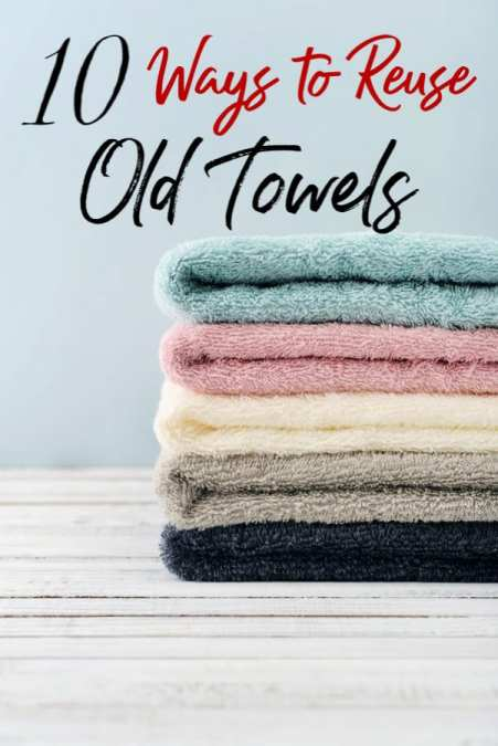 Have a few old towels lying around? Turn them into something amazing with these new uses for old towels! You might be surprised at what you can make!