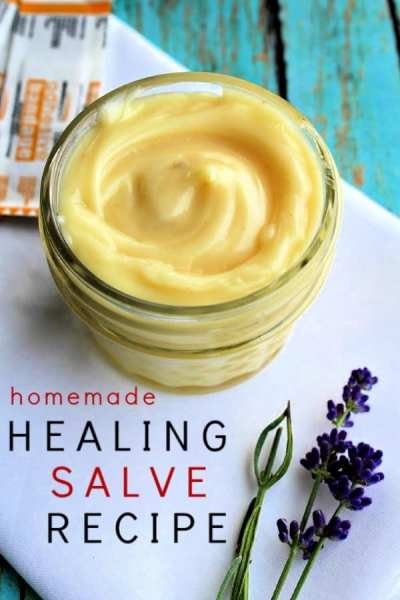 Cuts, scratches and simple burns don't stand a chance against this DIY healing salve. Made with antibacterial and antiviral ingredients, it's perfect for your holistic medicine cabinet.