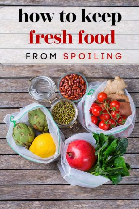 Tired of the fresh veggies and fruit you buy going bad before you can eat it? Let me show you how to keep fresh food from spoiling so it lasts longer! It's much easier than you think!