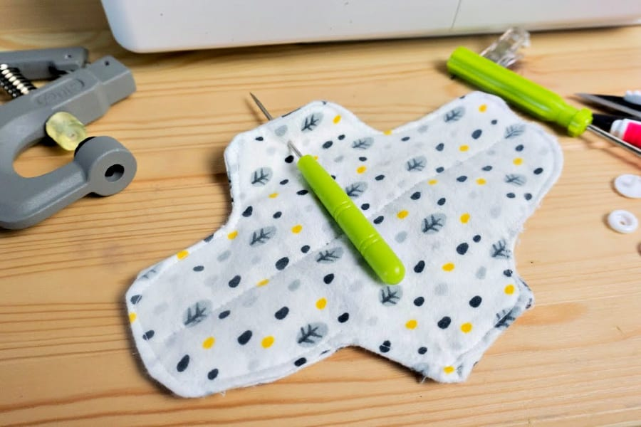 DIY Reusable Menstrual Pads Free Sewing Pattern