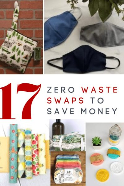 If you are looking for out of stock items or just want to save more money than you think, take a look at these zero waste swaps! Ditch disposables for these reusable items and kick start your frugal living!