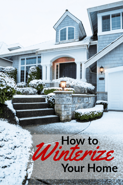 Knowing how to winterize your home before winter hits is so important to keeping your family warm and your heating bills down! These tips for winterizing your house are so simple anyone could do them!