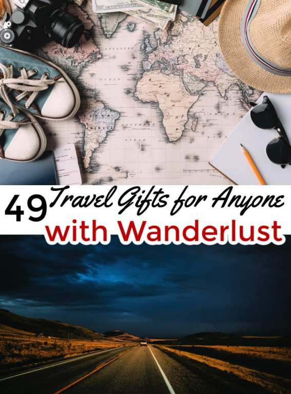 Do you know someone who has wanderlust in their soul? Gift them one of these travel gifts! These travel gift ideas are perfect for both men and women and are sure to make their trip memorable!