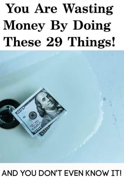 It is so easy to waste money even when you think you're frugal. These 29 ways you're wasting money prove that. If you're doing any of these, you are keeping yourself broke!