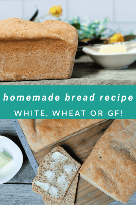Soft, warm and comforting, homemade bread is one of the cheapest and best homemade recipes you can learn to make. This homemade bread recipe really is the best homemade bread recipe I've ever tried! Give it a try and we're sure you'll agree too! White Bread, whole wheat bread and gluten free bread options too!