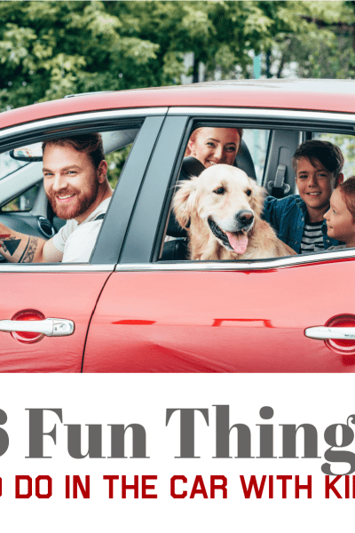 """Answering the ever-popular question, """"Are we there yet?"""" can become a little tiresome during long car rides. With a bit of preparation, you can have enough tricks up your sleeve to keep the kids entertained during those longer journeys. Even better, children can be having so much fun that they don't even realize they're learning while they play!"""