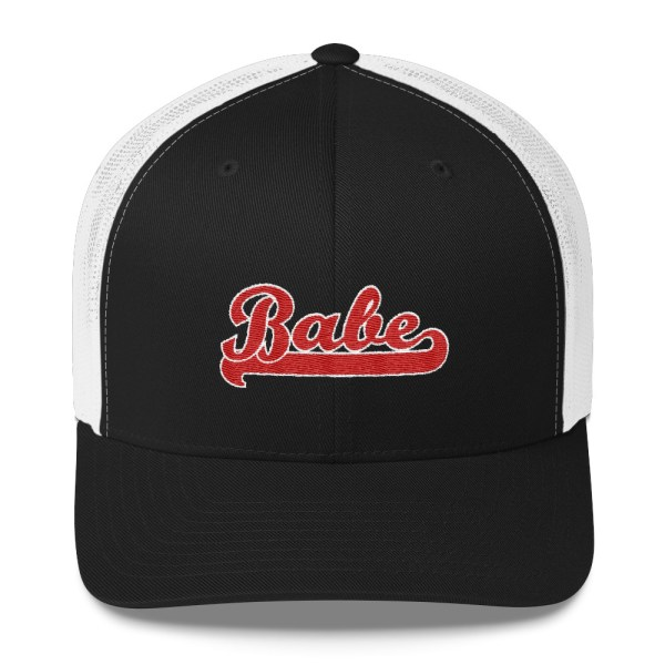 Babe Embroidered Trucker Hat