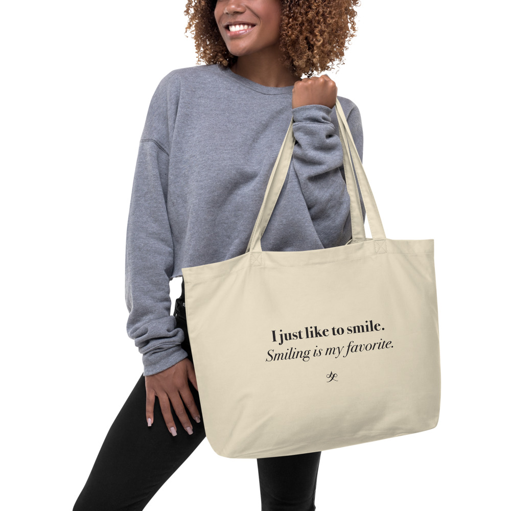 Like to Smile Organic Tote