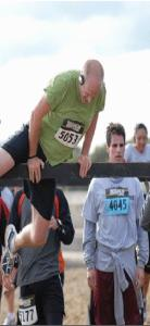 Josh in the Urbanathlon 2009