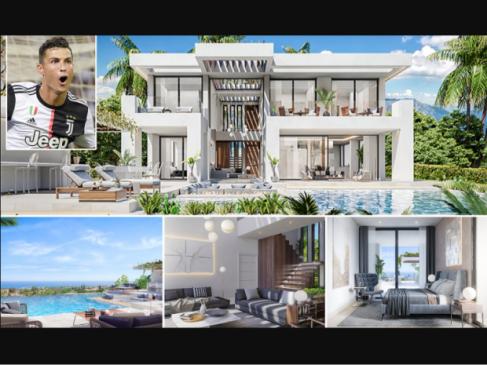 Cristiano Ronaldo splashes ?1.3m on a new mansion next door to Conor McGregor in Marbella (Photos)